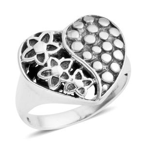 Jewelry - Bali Legacy Collection Sterling/S Floral Heart